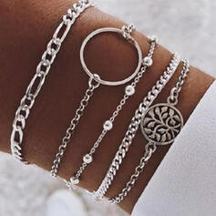 Stylish Alloy Jewelry Sets Bracelets (Set of 5)