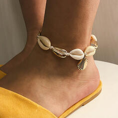 Shell Alloy Beach Jewelry Anklets