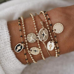 Stylish Alloy Jewelry Sets Bracelets (Set of 6)
