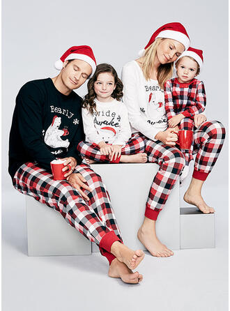 Bear Print Family Matching Christmas Pajamas