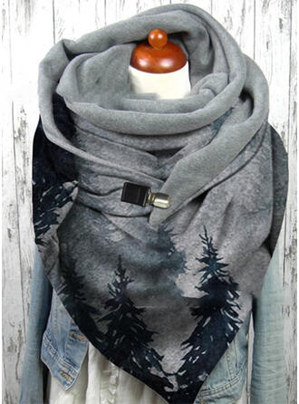 Print fashion/Warm Scarf