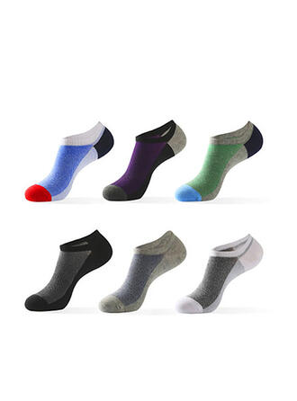 Letter/Print Breathable/Comfortable/Multi-color/No Show Socks Socks