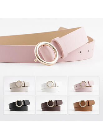 Stylish Attractive Charming Elegant Artistic Delicate Leatherette Women's Belts 1 PC