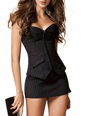 Cotton Striped Corset